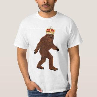 Rey de Squatch Camiseta