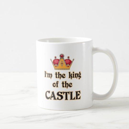 Rey del castillo taza de café