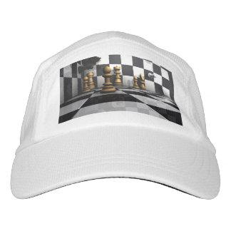 Rey del juego del ajedrez gorra de alto rendimiento
