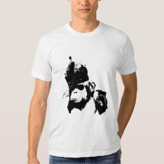 Rey del mono de la pintada camisetas