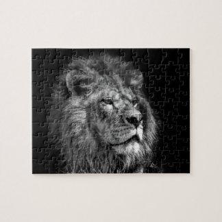 Rey del rompecabezas del león de la selva