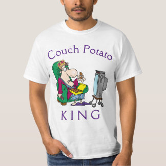 Rey del teleadicto camiseta