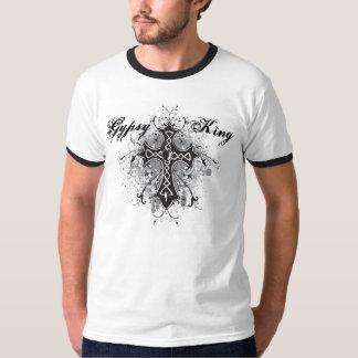 Rey gitano Gothic Cross Tee del KRW Camiseta