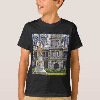Rey Kamehameha Modern de Hawaii Camiseta