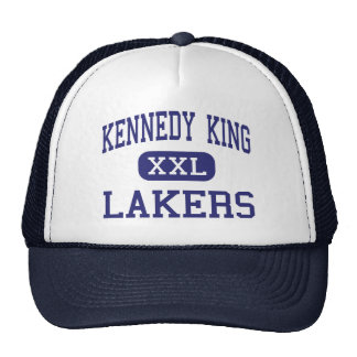 Rey Lakers Middle Gary Indiana de Kennedy Gorro De Camionero