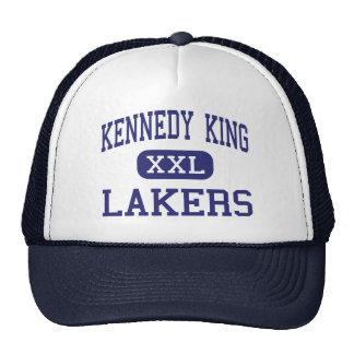 Rey Lakers Middle Gary Indiana de Kennedy Gorro De Camionero