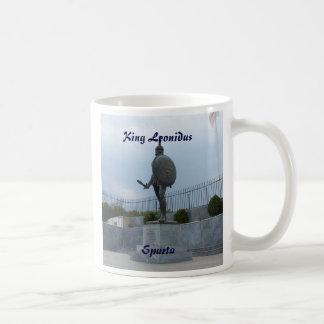 Rey Leonidas de Sparta Taza De Café