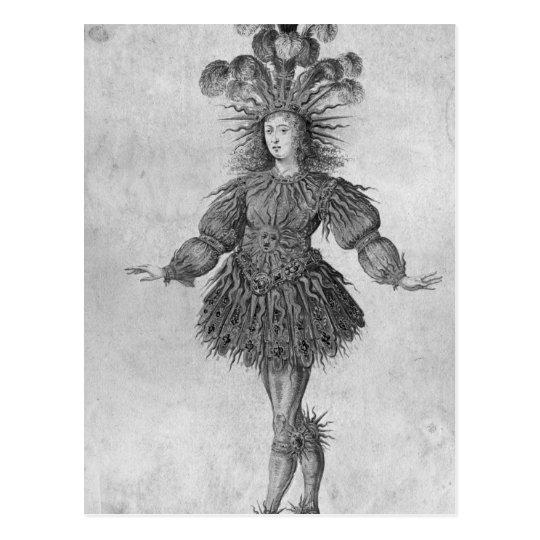 Rey Louis XIV de Francia Postal