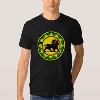 Rey Rasta Lion de Jah Camisetas