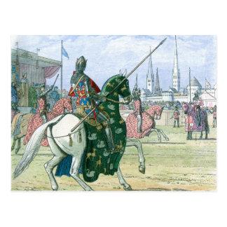 Rey Richard II para el duelo Postal