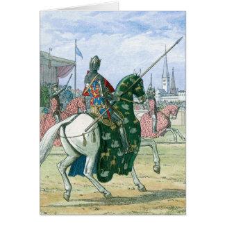 Rey Richard II para el duelo Tarjetas