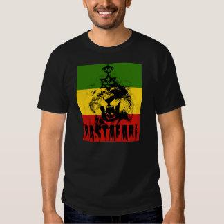 Rey Solomon Lion de Rastafari de la camiseta de
