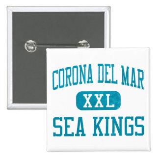 Reyes de mar de Corona del Mar atletismo Pin