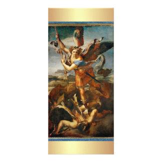 Rezo a San Miguel el arcángel Lona Publicitaria