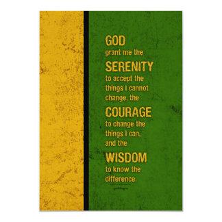 Rezo de la serenidad: Jamaica patriótica, Invitación 12,7 X 17,8 Cm
