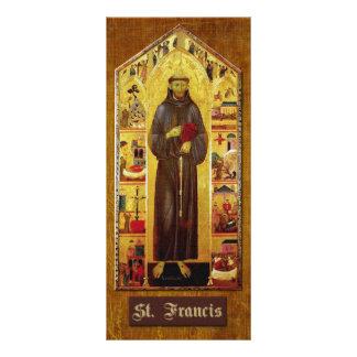 Rezo de St Francis de Assisi Folleto Publicitario 10 X 22,8 Cm