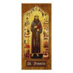 """""""Rezo de St Francis de Assisi """" Tarjeta Publicitaria Personalizada"""