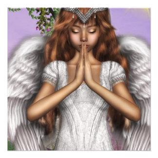Rezos del ángel invitación