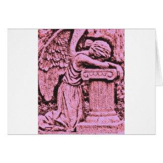rezos del ángel tarjeta de felicitación