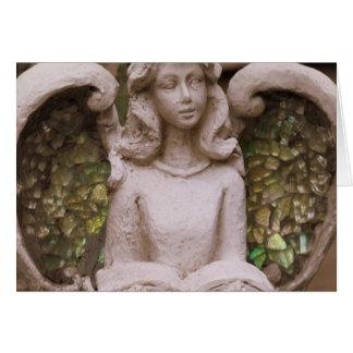 Rezos del ángel tarjeta pequeña
