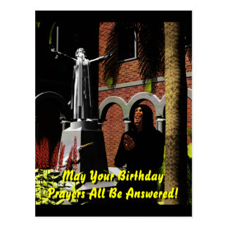 Rezos del cumpleaños postal