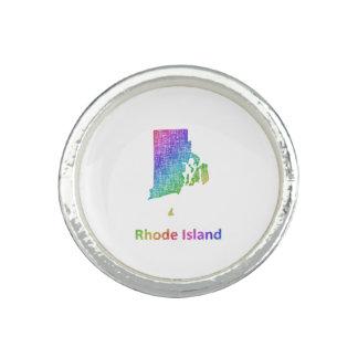 Rhode Island Anillos Con Foto