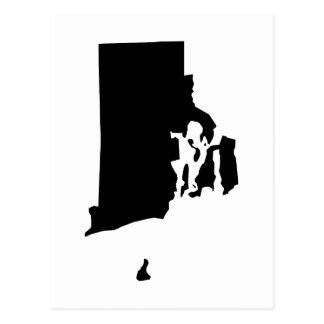 Rhode Island en blanco y negro Postal