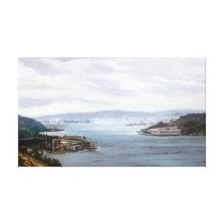 Ría de Ferrol (A Coruña)/Estuary of Ferrol Impresión En Lienzo