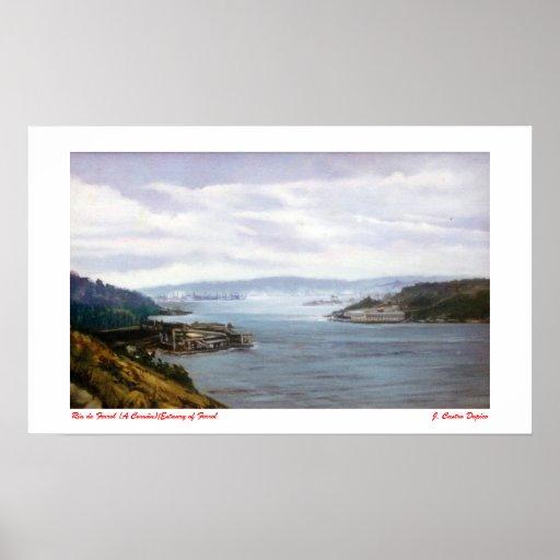 Ría de Ferrol (A Coruña)/Estuary of Ferrol Impresiones