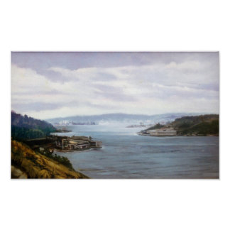 Ría de Ferrol (A Coruña)/Estuary of Ferrol Póster
