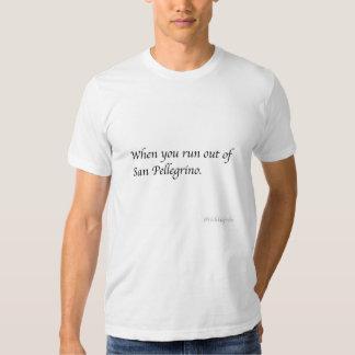 @richkidprobs de San Pelligrino Camisetas