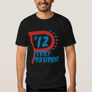 Rick Perry 2012 para el presidente Camisetas