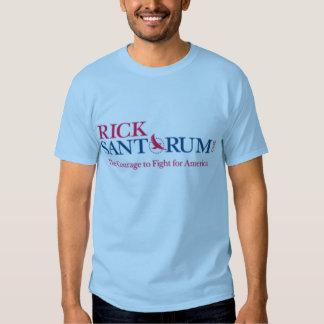 Rick Santorum para el presidente 2012 Camisetas