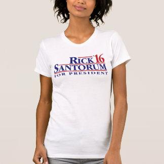 Rick Santorum para el presidente Camisetas