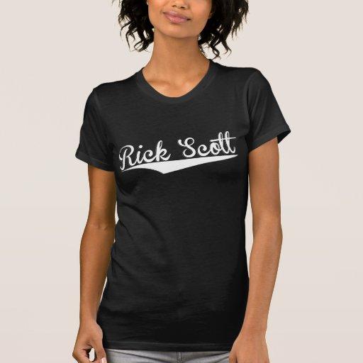 Rick Scott, retro, Camiseta