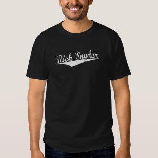 Rick Snyder, retro, Camisetas