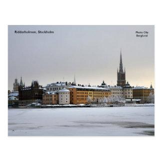 Riddarholmen Estocolmo foto… Tarjetas Postales