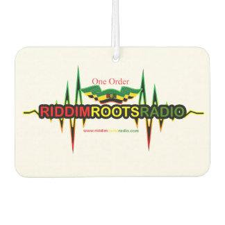 Riddim arraiga el ambientador de aire de radio del