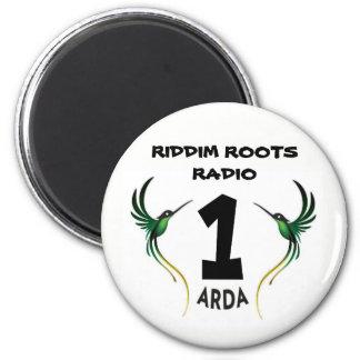 Riddim arraiga el imán del refrigerador de Arda de