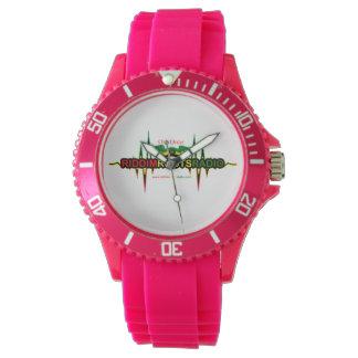 Riddim arraiga el reloj deportivo del silicio de