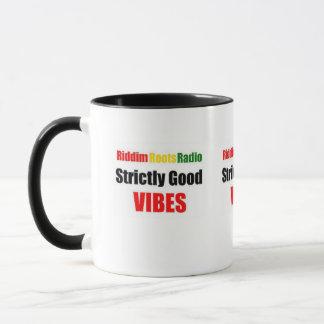 Riddim arraiga estrictamente la buena taza de