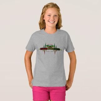 Riddim arraiga la camiseta de Hanes TAGLESS® de