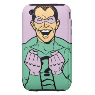 Riddler 2 tough iPhone 3 carcasa