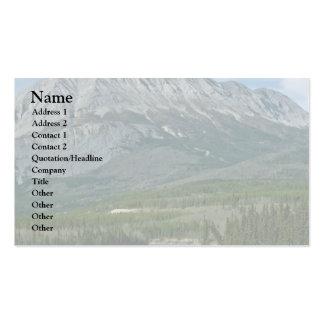 Ridge desnudo plantillas de tarjetas de visita