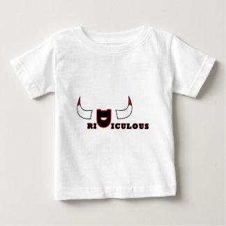 Ridículo Camiseta Para Bebé