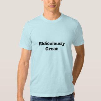 Ridículo grande camisetas