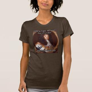 Ridículo rey de Portraitable - gran fuego Camiseta