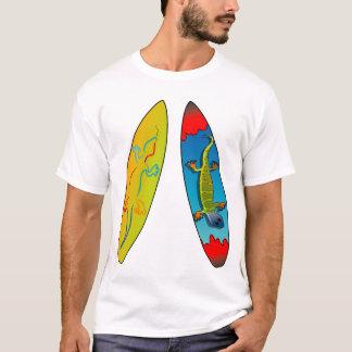 Ridin el Gecko Camiseta