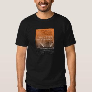Riegue… el carbón del futuro - camiseta (la