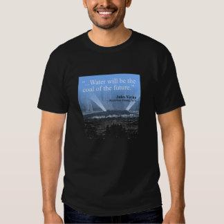 Riegue… el carbón del futuro - la camiseta (azul)
